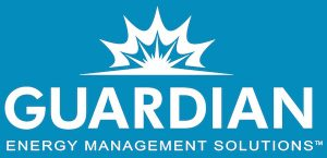 Guardian Energy Management Solutions White Logo